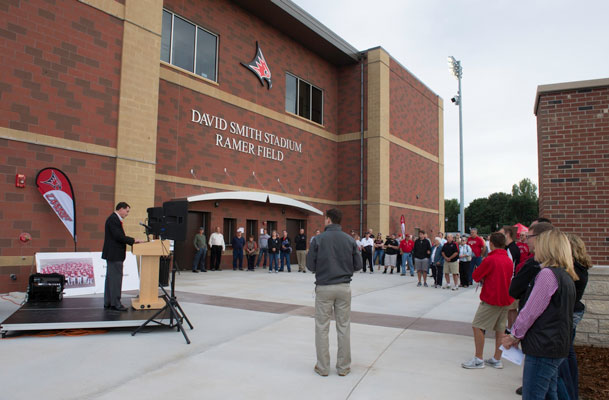 David Smith Stadium Rededication