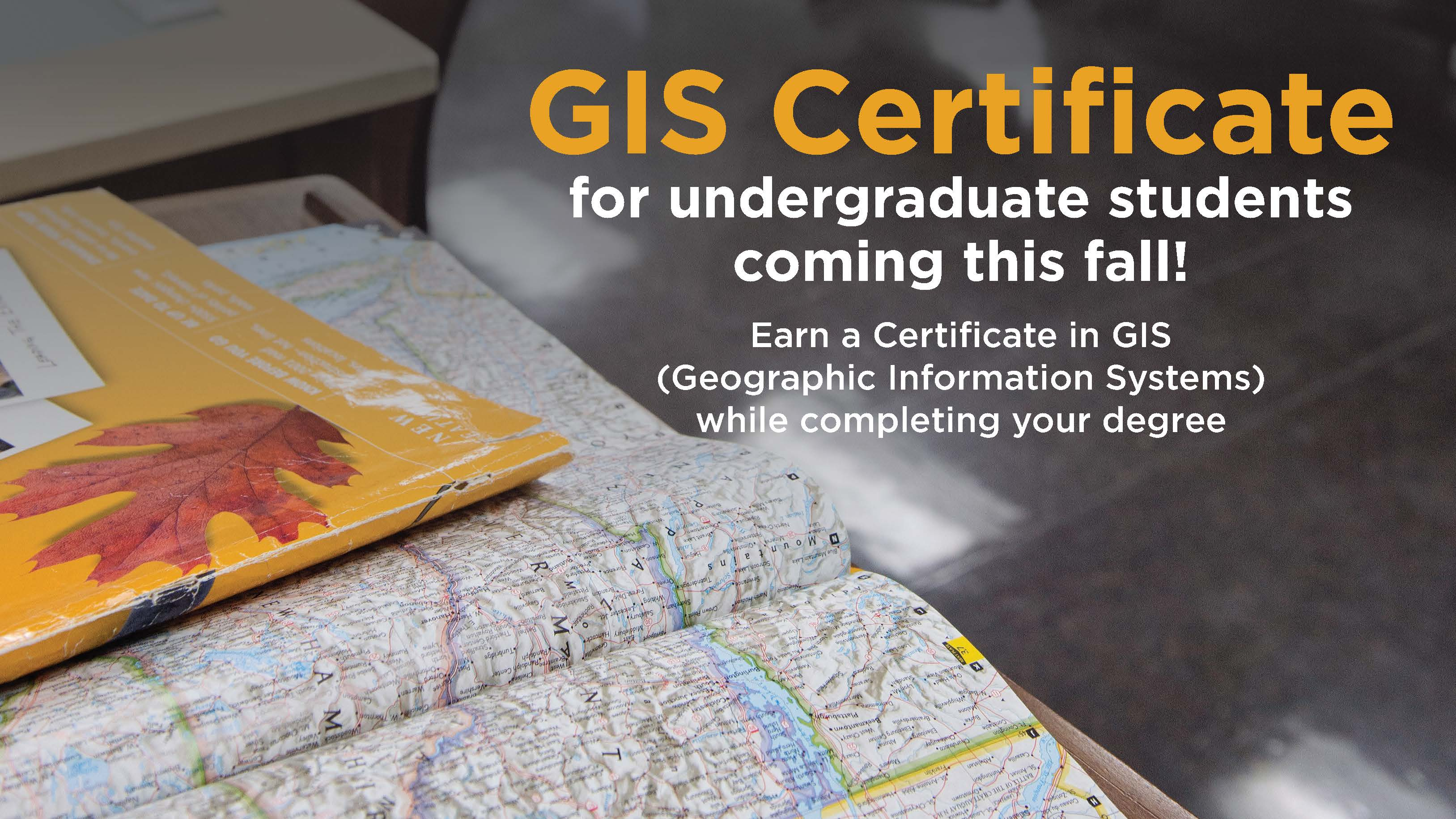 GIS Certificate for Undergrads