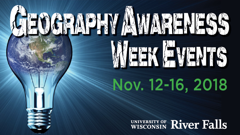 Geography Awareness Week 2018