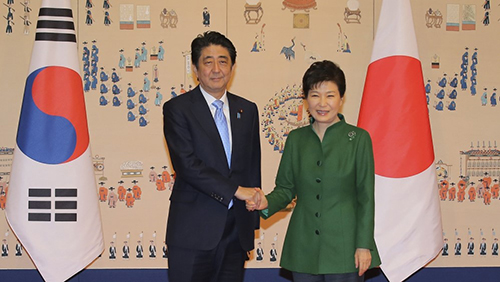 Park and Abe, Korea-Japan relations