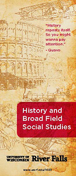 History and Broad Field Social Studies interactive brochure