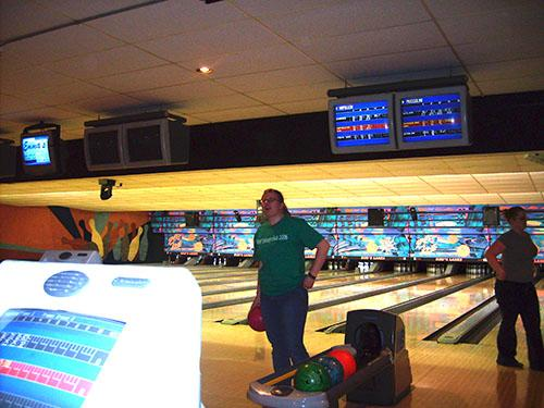 History Club bowling night