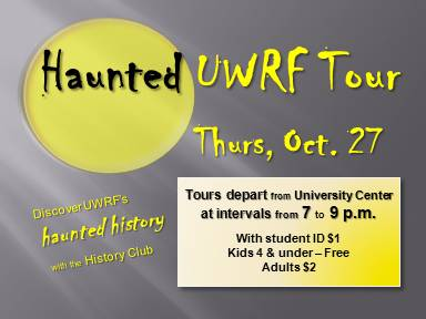 Haunted UWRF Tours poster