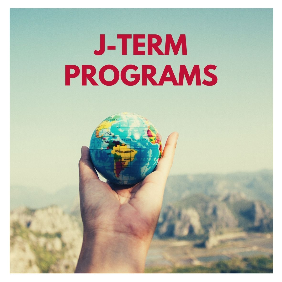 J-term programs button