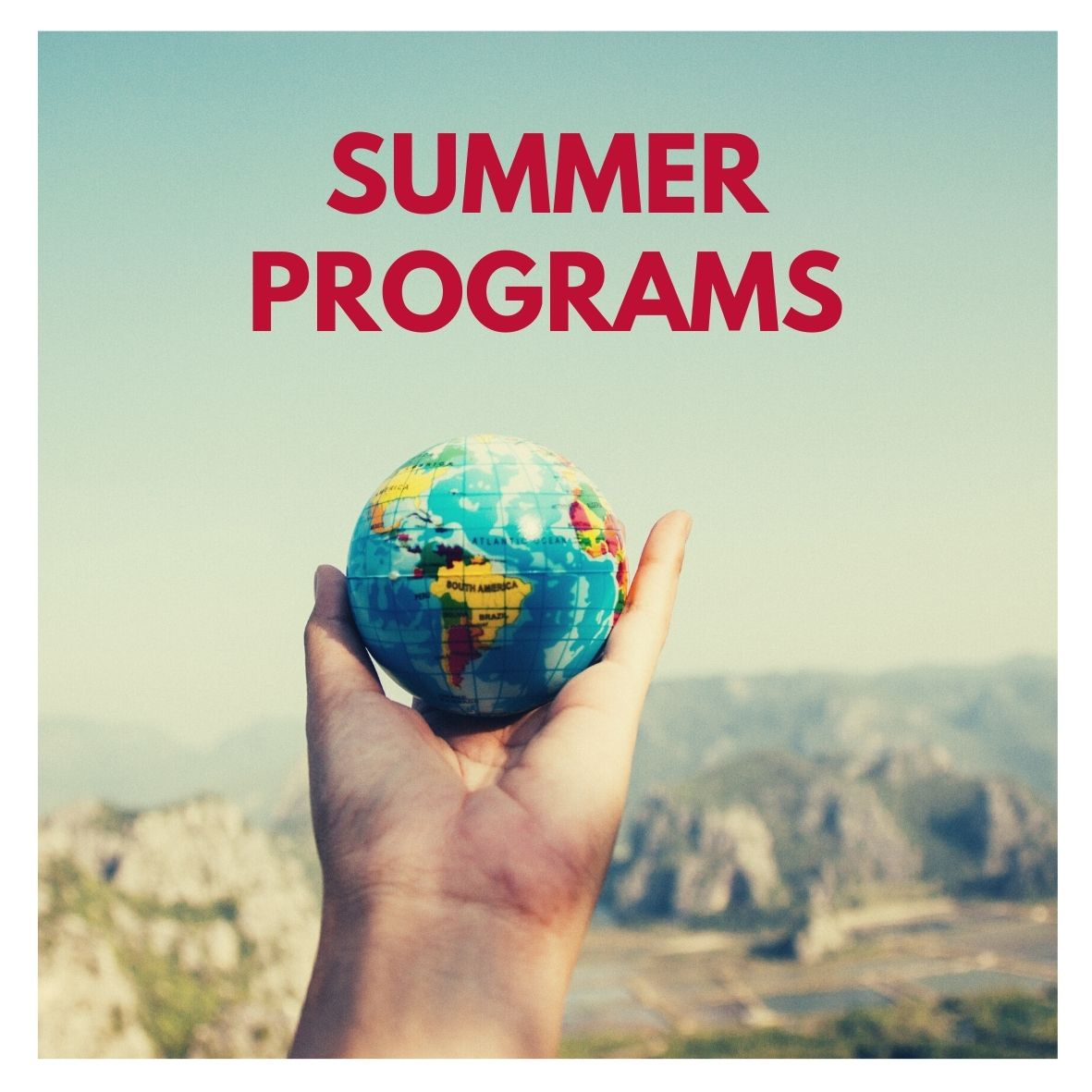 Summer Programs button