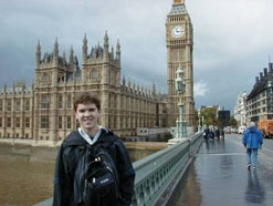Student Big Ben Parliament