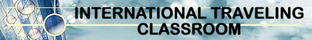 International Traveling Classroom banner