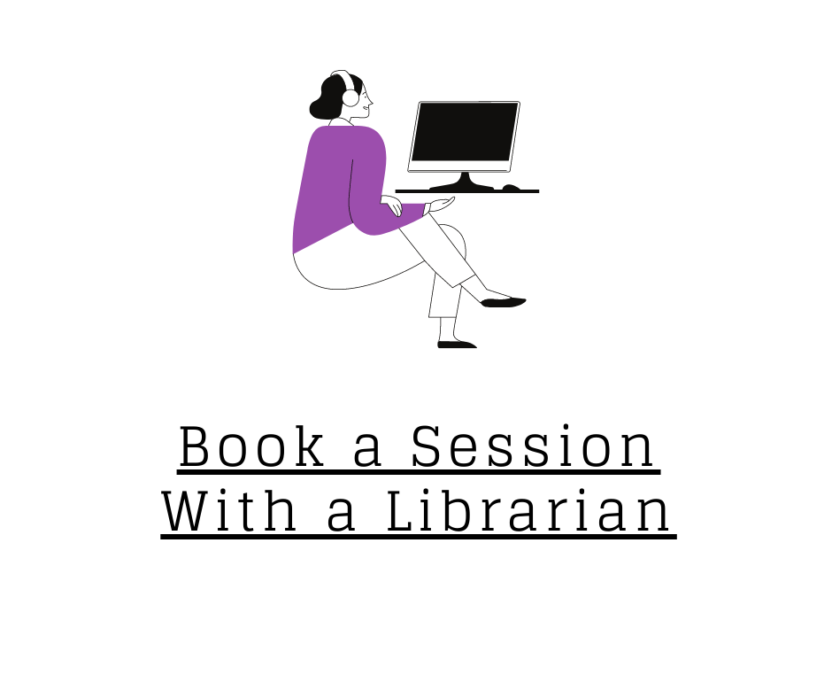 Book a session with a librarian