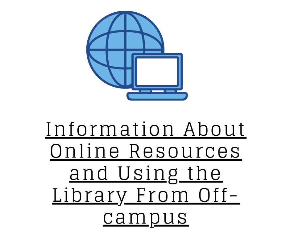 Click Here to Learn More About our Online Library Resources