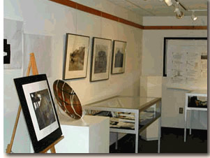 Harriet Barry Gallery located in the Chalmer Davee Library, UW-River Falls