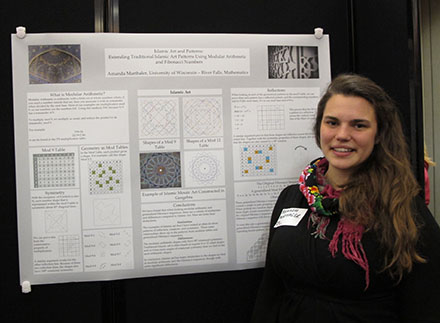 Amanda Marthaler at Research, Scholarly & Creative Activity Day April 17, 2014