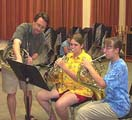 Chamber Music Camp French Horn Group