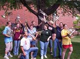 Chamber Music Camp Group Outside