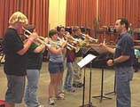 Chamber Music Camp Trumpet Group