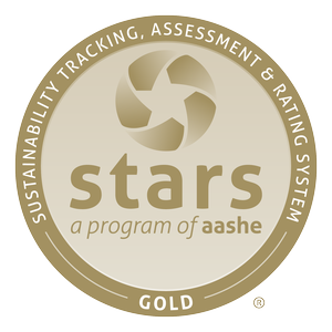 AASHE Gold STARS Seal