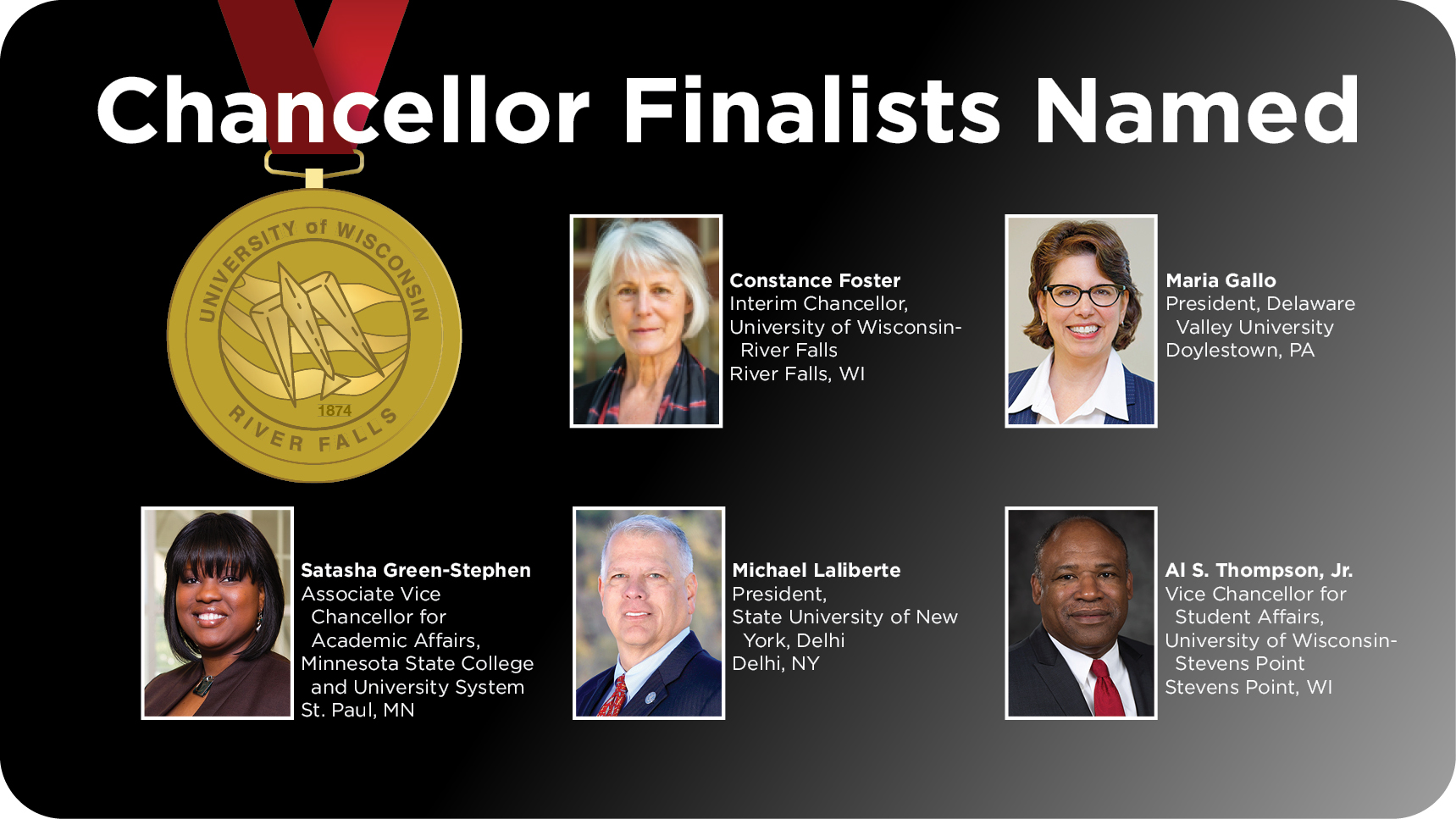 Chancellor Finalists