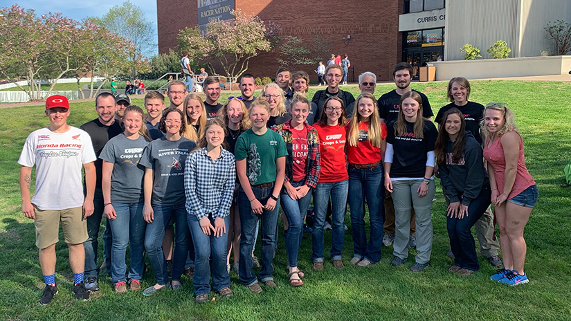 2019 Crops and Soils Teams at NACTA