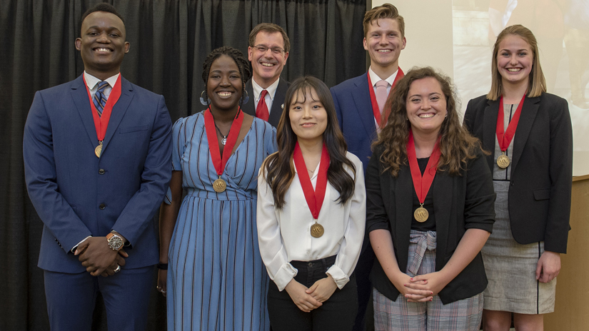 UWRF 2019 Chancellors Award for Students