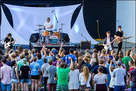 Hippo Campus/Chill on the Hill, July 21, 2015