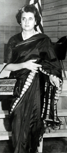 Indira Ghandi at WSC-RF, 1962