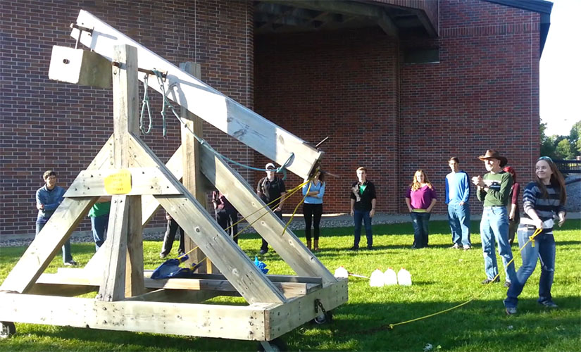 Launching the Trebuchet, Fall 2014
