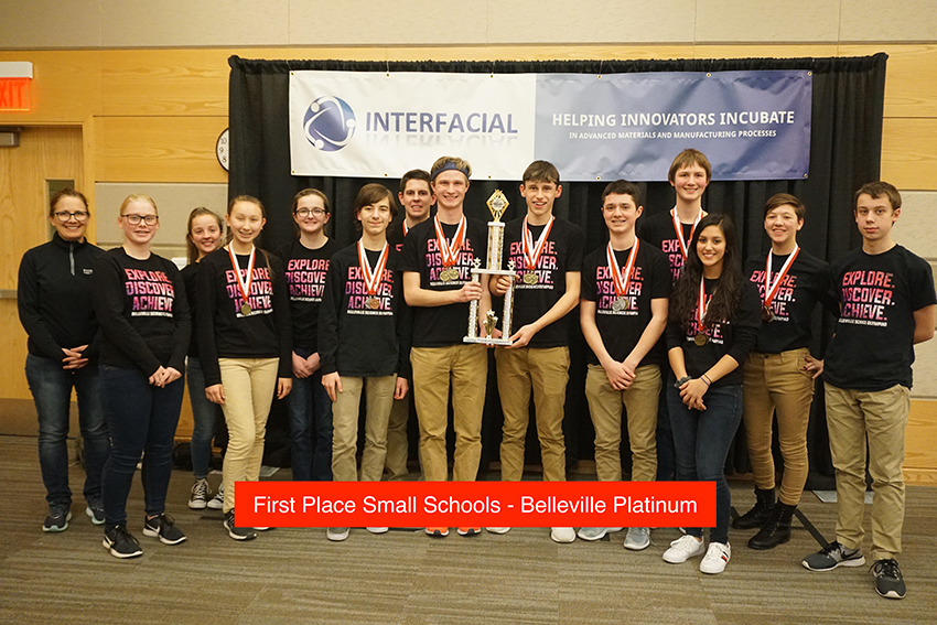 Science Olympiad 2019 First Place Small Team