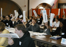 Voting at the Model UN Conference