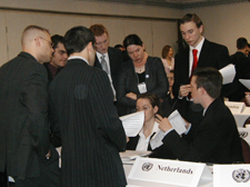 Caucusing at the Model UN Conference