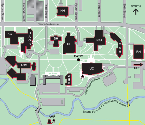 Campus Reservations Map