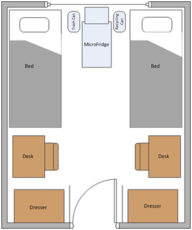 Trad Hall Room Layout Small