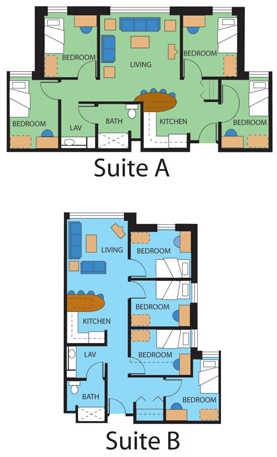 Suite Layouts