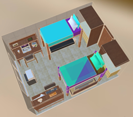 Traditional Hall Rm Design 3D
