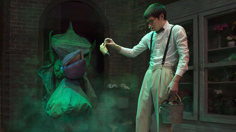 Little Shop of Horrors Audrey and Seymour