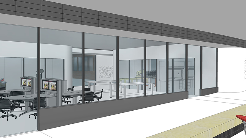SciTech collaboration space rendering