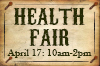 Health Fair 2013 button