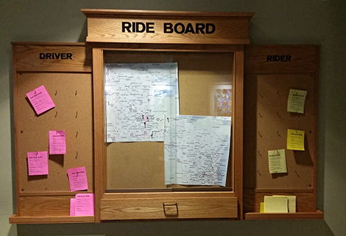 Ride Share Board