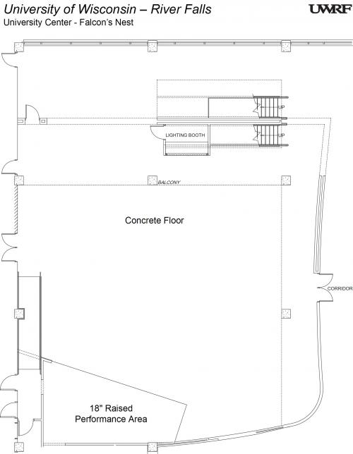 Falcons Nest Floorplan
