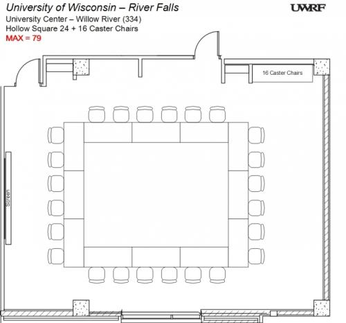 Willow River Room Floorplan