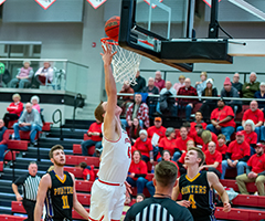 Falcon Men's Basketball vs UW-Stevens Point
